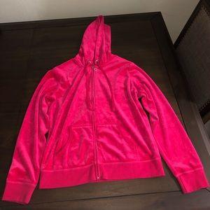 Pink Velvet Sweatsuit